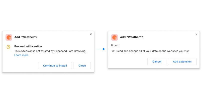 Chrome will soon warn you when you might not want to trust an extension
