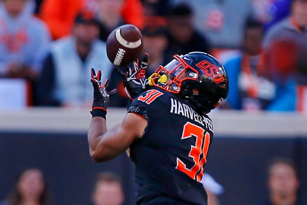 Oklahoma State's Kolby Harvell-Peel to miss Texas Bowl due to knee injury -  Cowboys Ride For Free
