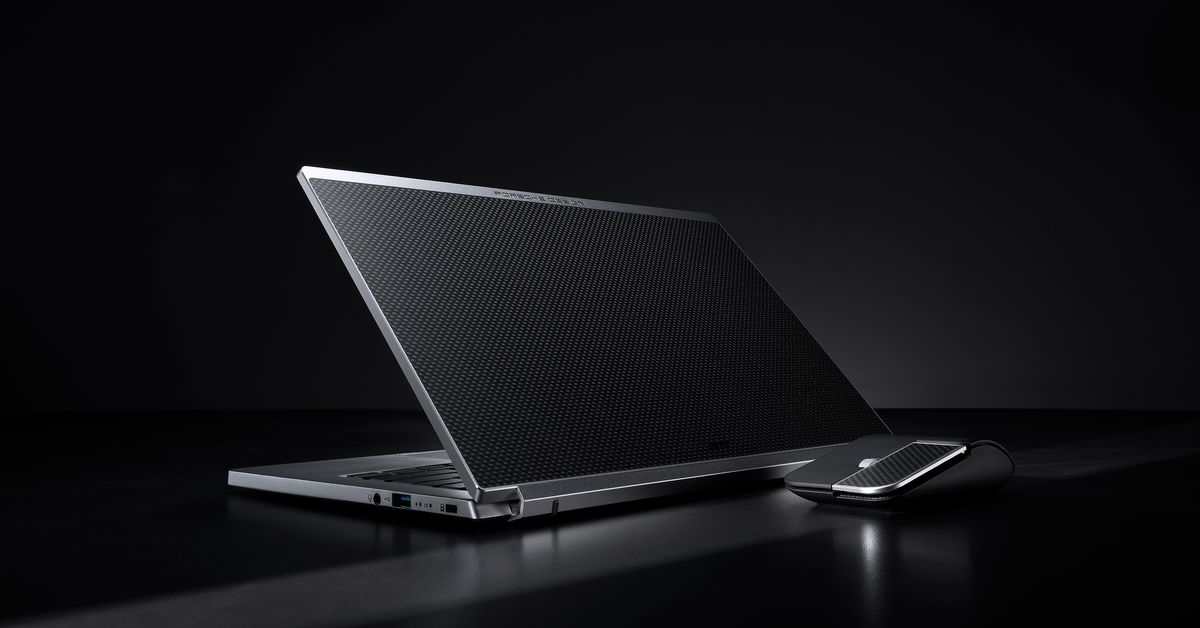 Acer teams up with Porsche Design for the luxury AcerBook RS laptop