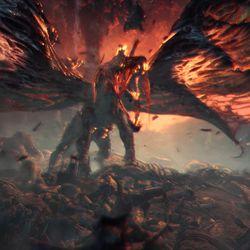 Monster Hunter Worlds Elder Dragons Look Spectacular