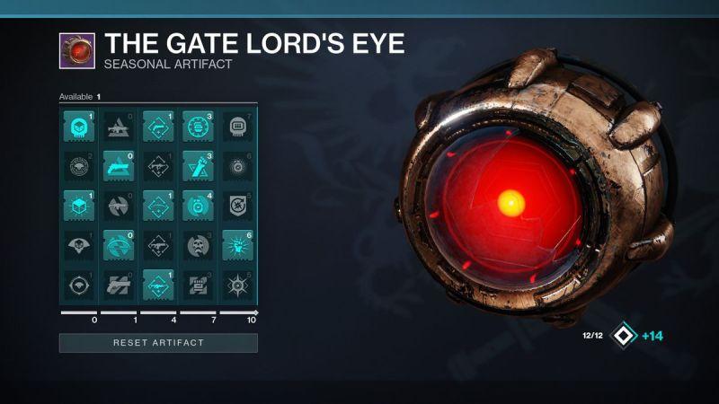 Destiny 2: Shadowkeep The Gate Lord's Eye