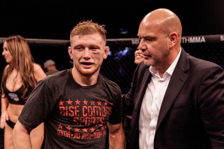 Casey Kenney expects LFA 'champ-champ' status to lead to UFC call - MMA  Fighting