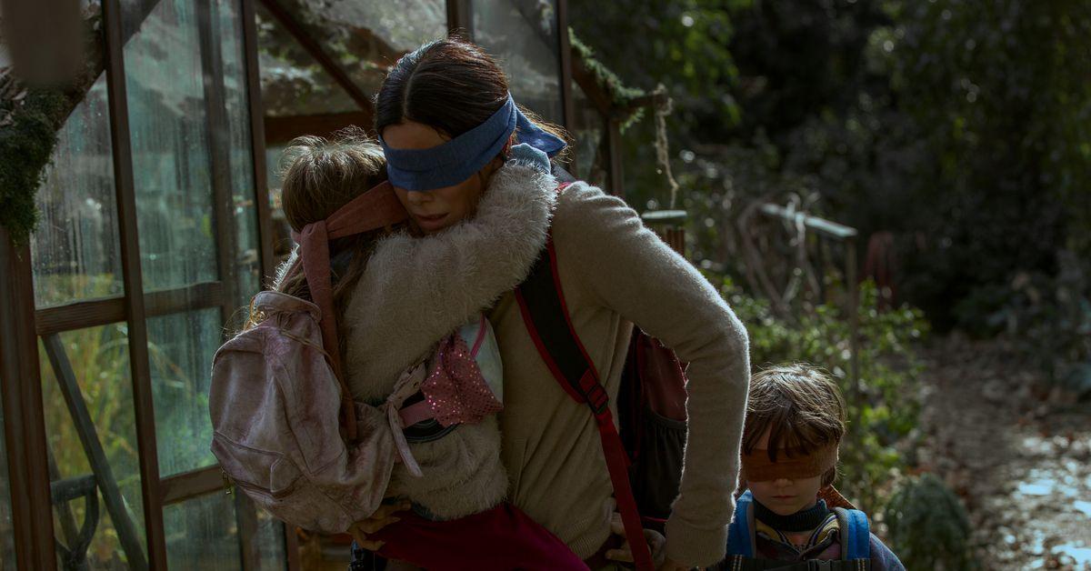 Bird Box Review Sandra Bullock Cant Save Netflixs Apocalyptic Thriller Polygon
