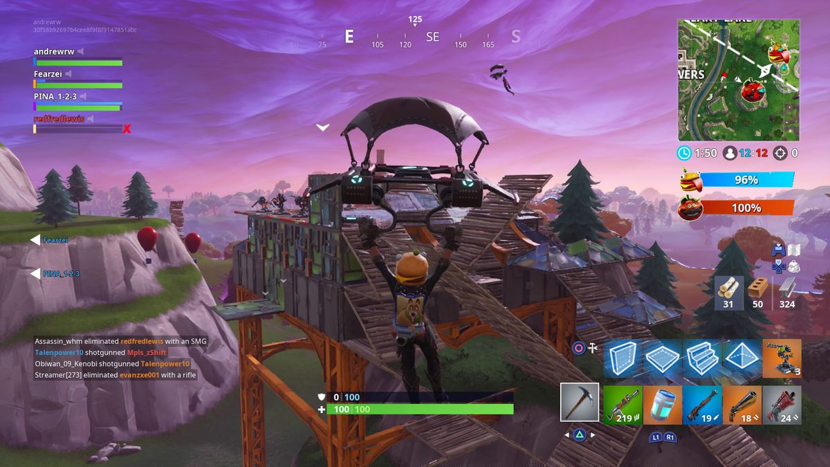 Fortnites Frantic Food Fight Is Its Best Mode Yet The Verge