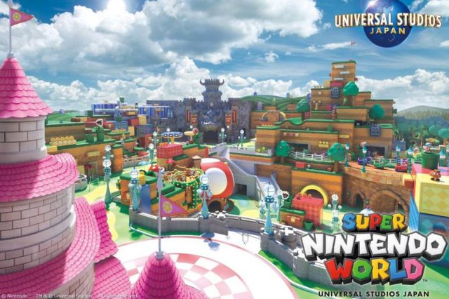 Image result for universal studios super nintendo world