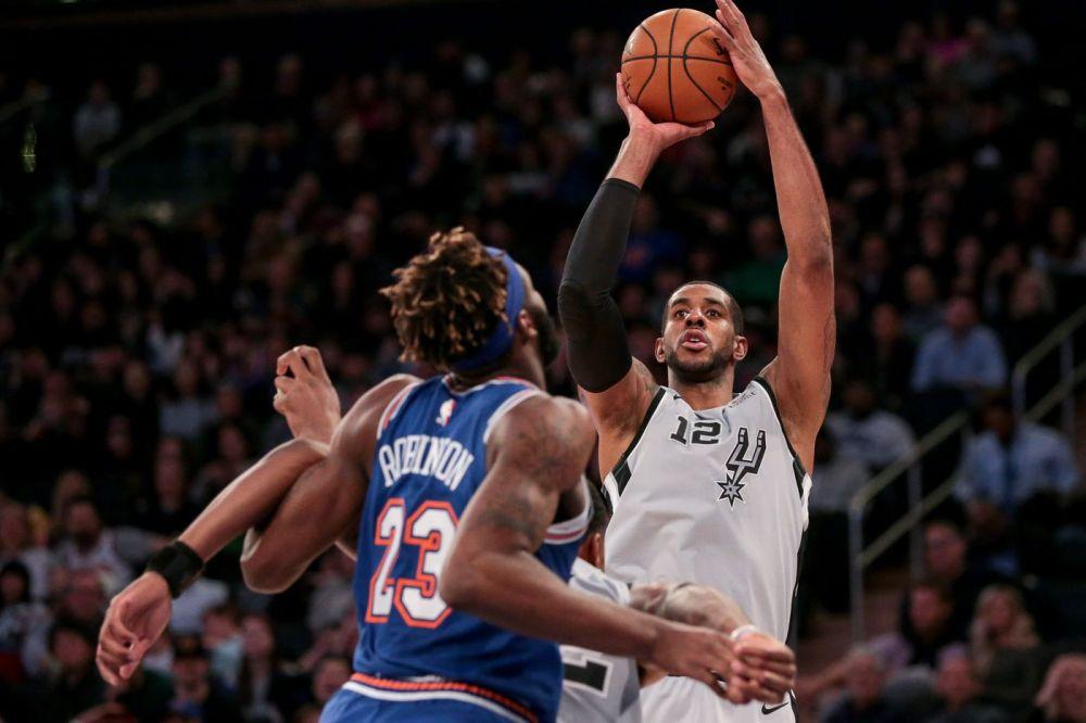 It's time for San Antonio Spurs vs New York Knicks - Pounding The Rock