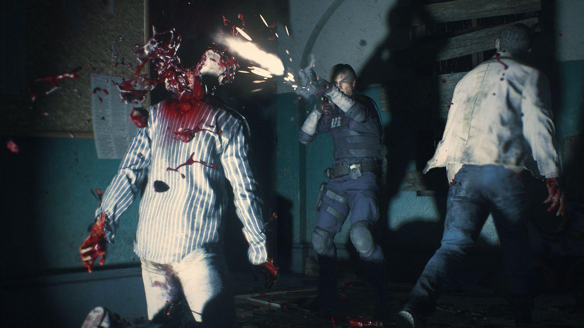 نتيجة بحث الصور عن Resident Evil 2