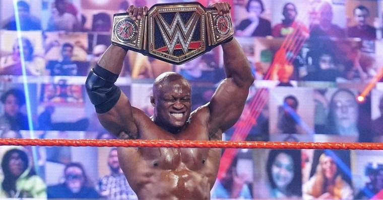 Bobby Lashley wins the WWE championship