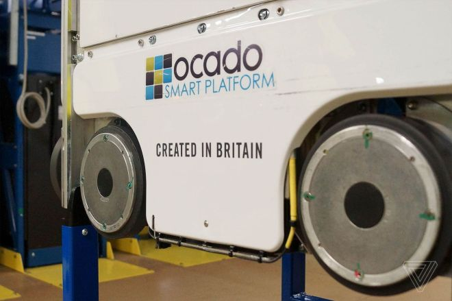 jvincent_180501_2547_0012.0 Robot collision at Ocado warehouse near London sparks fire, delaying customer orders   The Verge