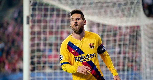 Lionel Messi makes more Champions League history for Barcelona against Slavia Prague