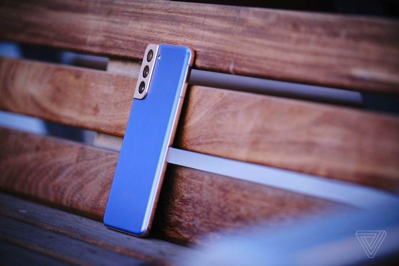 The Samsung Galaxy S21