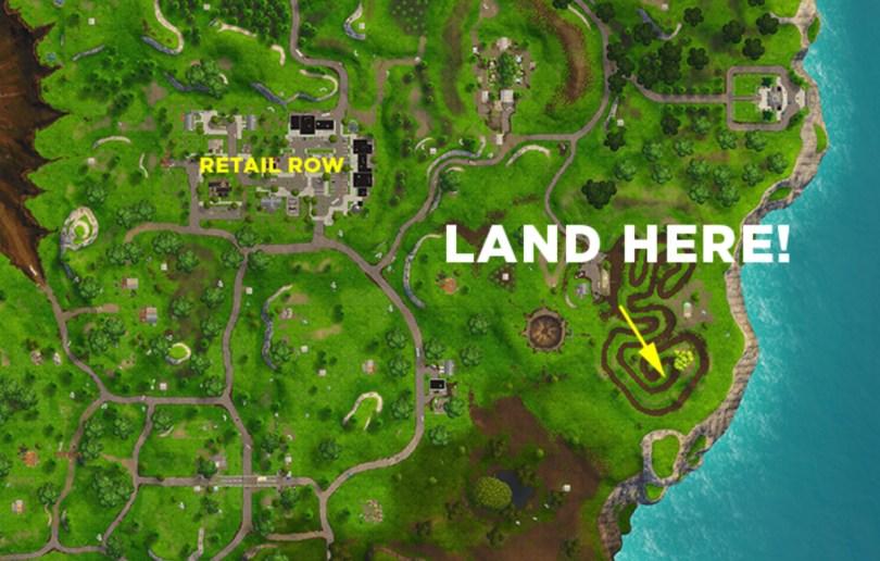 Salty Springs Treasure Map Location