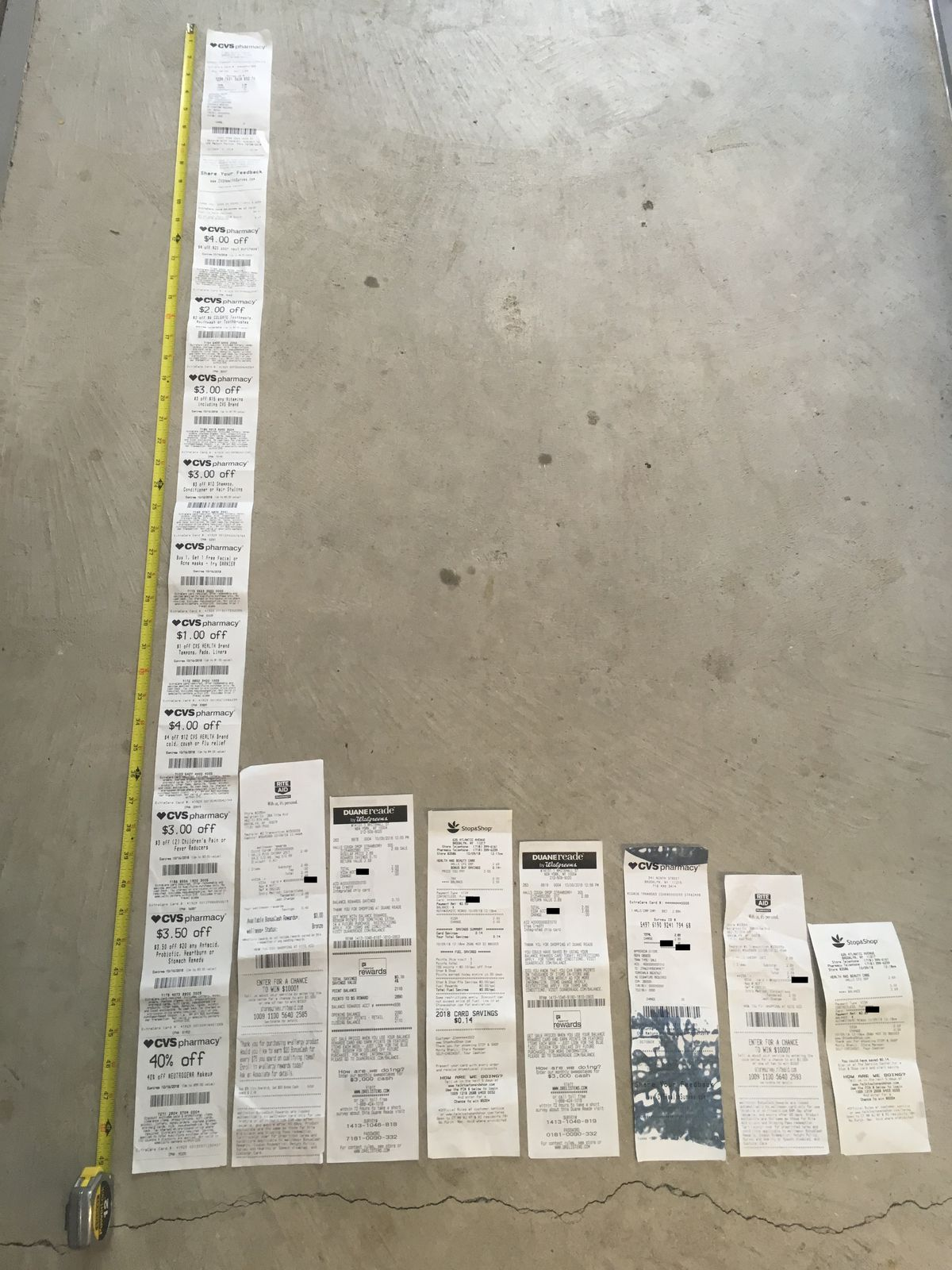 Why Are CVS Receipts So Long An Investigation Vox