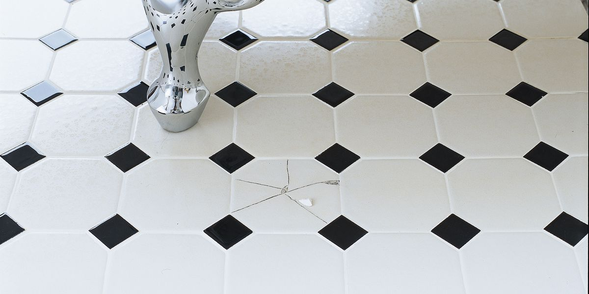 how to replace a broken tile this old
