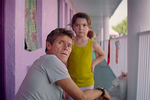 willem dafoe and brooklynn prince