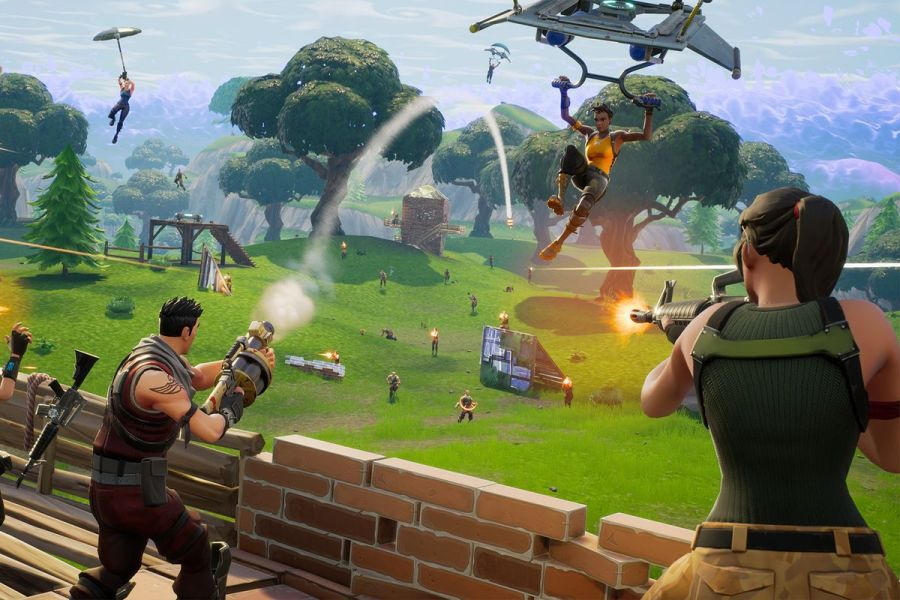 Microsoft suggests Fortnite PS4 vs  Xbox One cross play could happen     Microsoft first announced support for cross platform play at E3 2016  but  Sony has resisted supporting PS4 vs  Xbox One gaming  In a surprise  announcement
