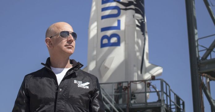 Jeff Bezos will fly to the edge of space with his brother next month - The  Verge
