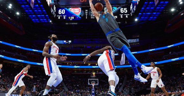 GAME THREAD: Dallas Mavericks at Detroit Pistons