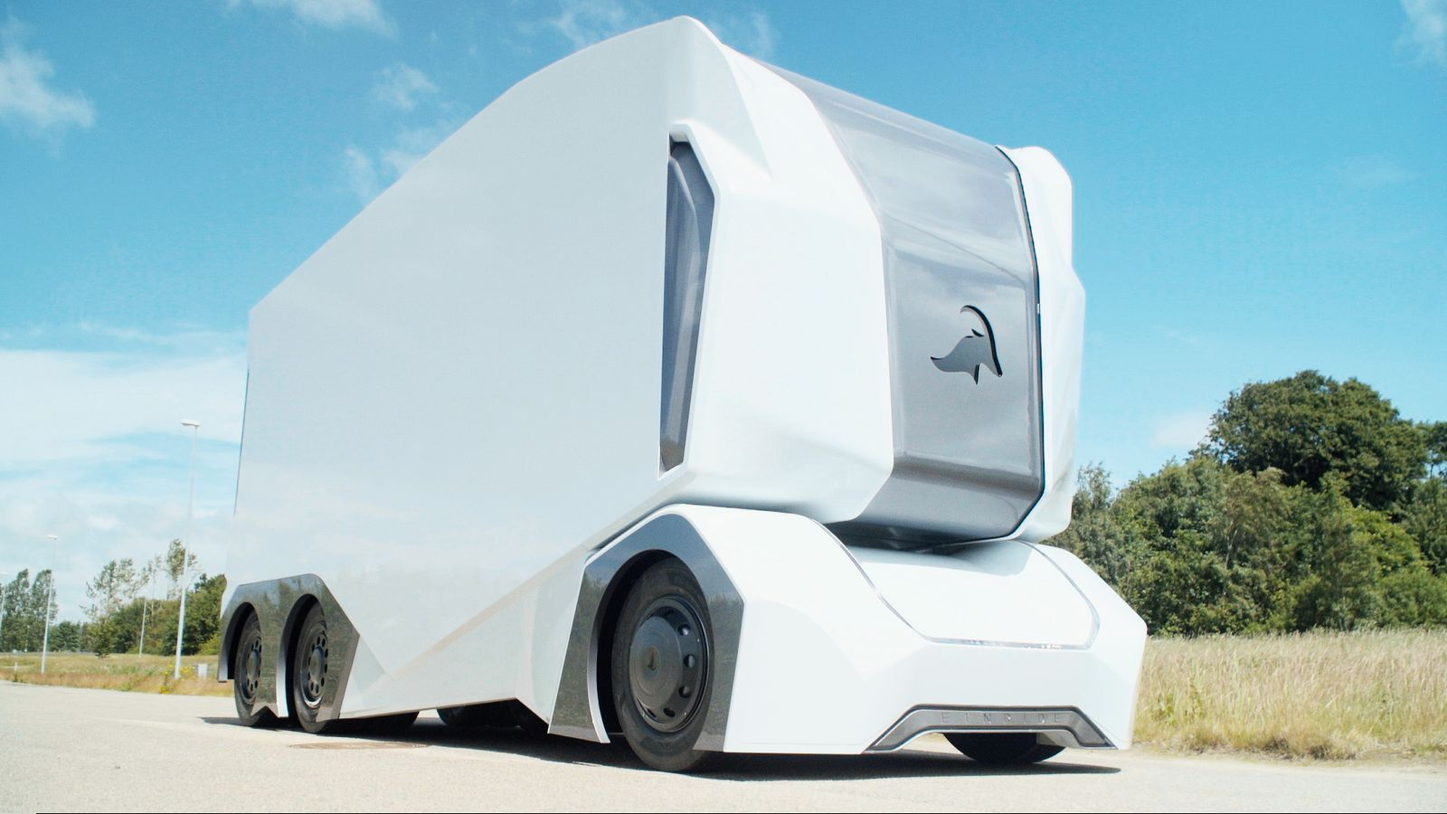 This Self Driving Truck Has No Room For A Human Driver