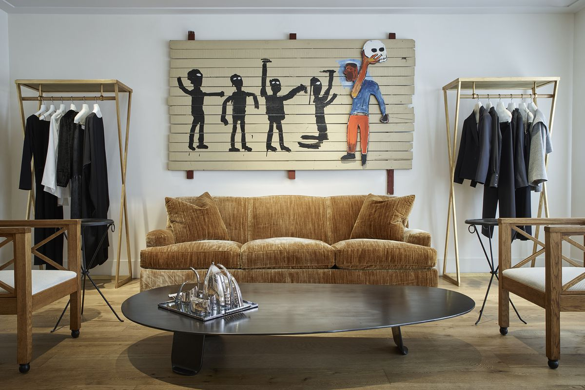 Inside The Row S Gorgeous New York Townhouse Store Racked Ny