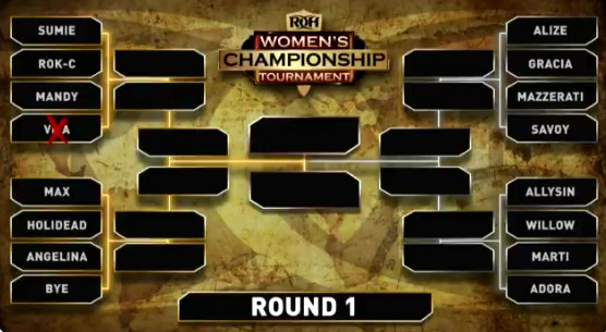 Chelsea Green debuts in ROH for Women's Championship tournament bracket reveal