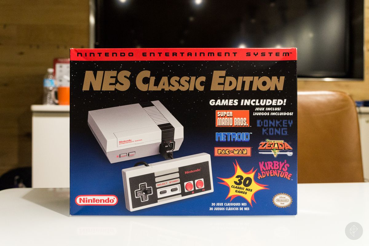 NES Classic Back On Sale At Best Buy Polygon