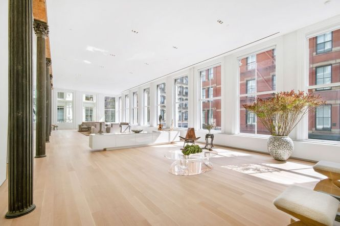 Airy Soho Loft Featured In S