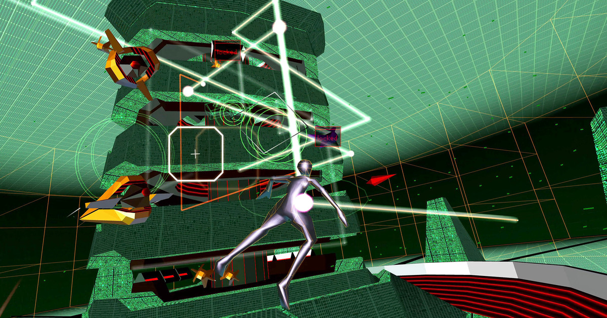 Rez Infinite is still a VR classic on the Oculus Quest