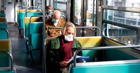France is using AI to check whether people are wearing masks on public transport
