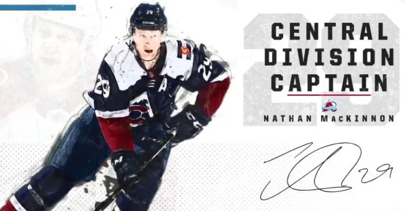 81d33451719 Nathan MacKinnon to captain the Central Division All-Star team