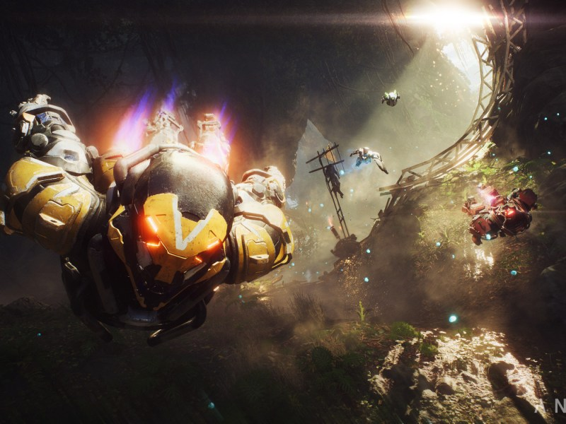 Watch 20 minutes of BioWare s Anthem in action   The Verge