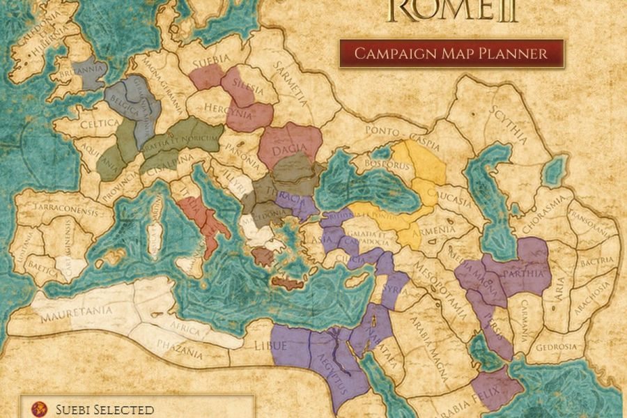 Plan your conquest with Total War  Rome 2 interactive map   Polygon Plan your conquest with Total War  Rome 2 interactive map