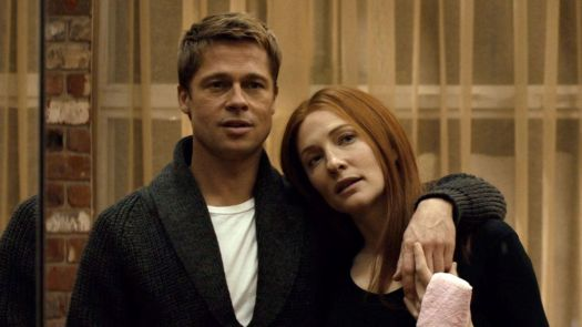brad pitt and cate blanchett in the curious case of benjamin button