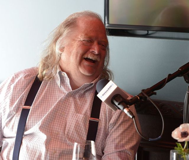 Jonathan Gold On A Satellite Radio Show In Los Angeles Photo By Charley Gallay Getty Images For Siriusxm