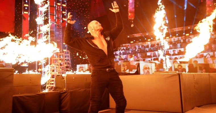 I think Randy Orton is gonna set some Legends on fire