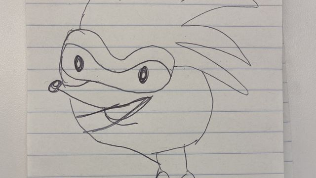 9.0 It's Friday, so the Polygon staff tried to draw Sonic from memory | Polygon