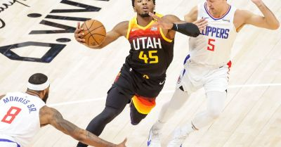 Live coverage: Utah Jazz storm back, tied with LA Clippers heading into 4th quarter of Game 1