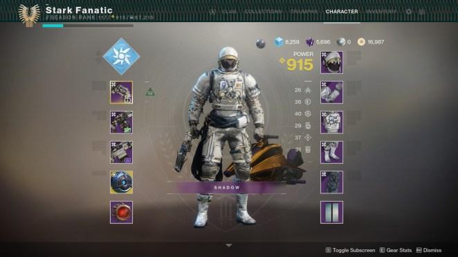 Destiny 2 Dreambane armor