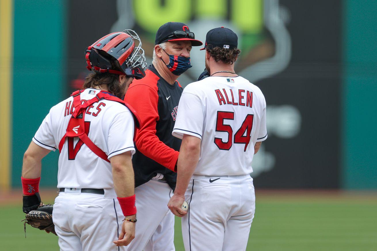MLB: APR 28 Twins at Indians