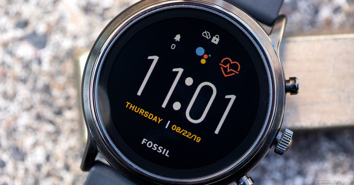 Fossil updates its Gen 5 smartwatches with sleep tracking and more fitness features