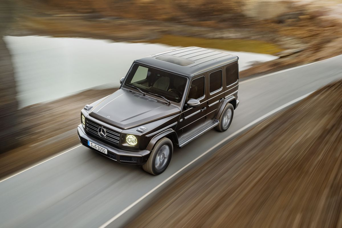 The 2019 Mercedes G Class Looks Vintage But Has A Killer