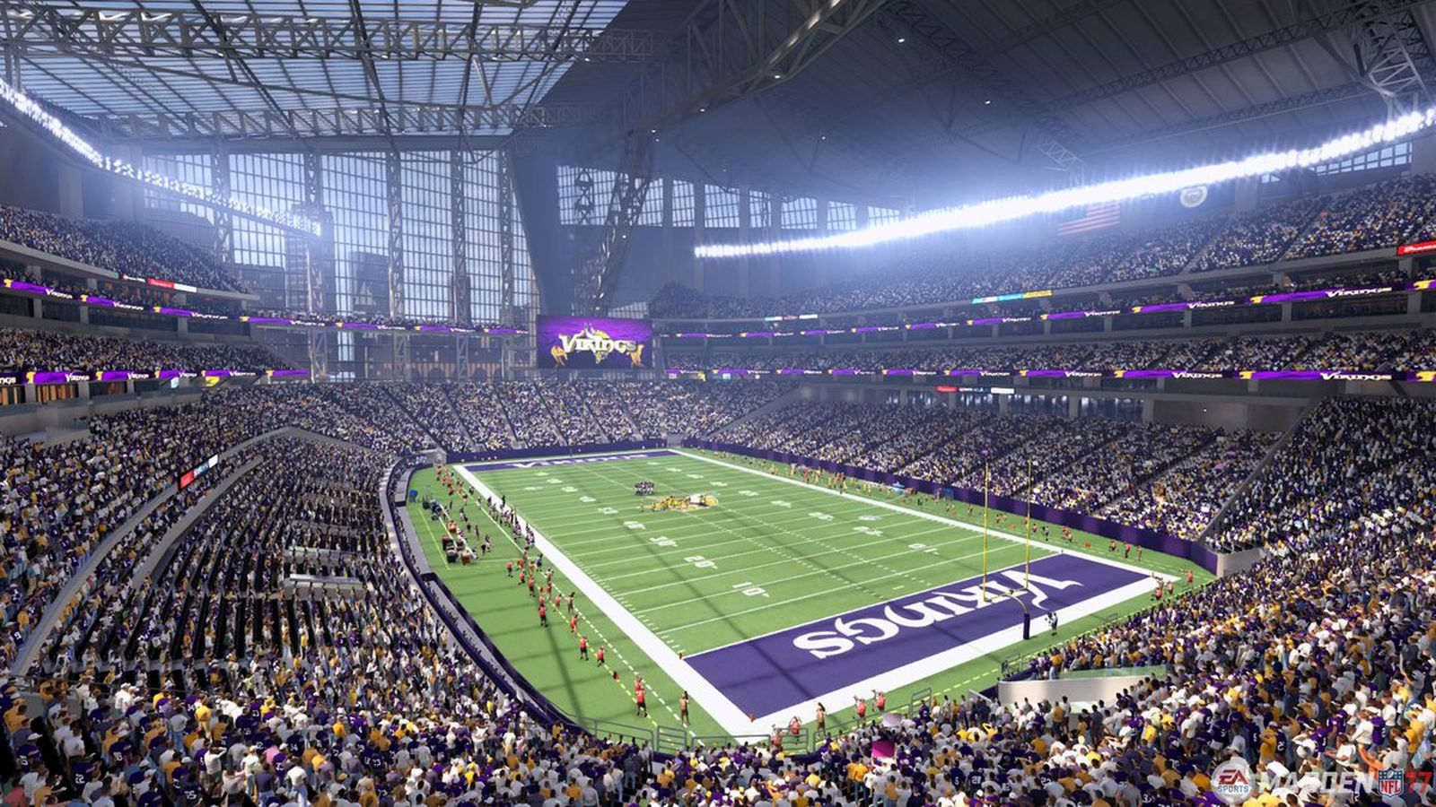 EA Sports Releases First Madden 17 Picture Of US Bank