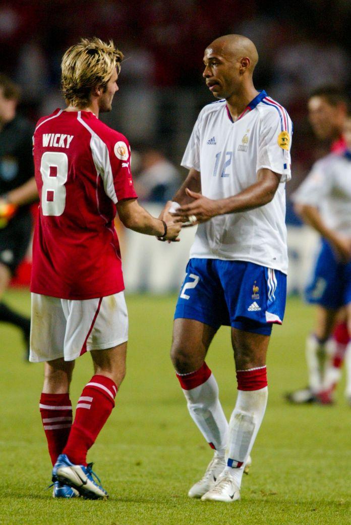 Switzerland v France - European Championship 2004