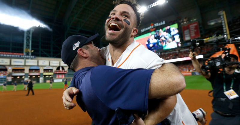 Altuve Blast Wins the Pennant! Astros are going back to the World Series!