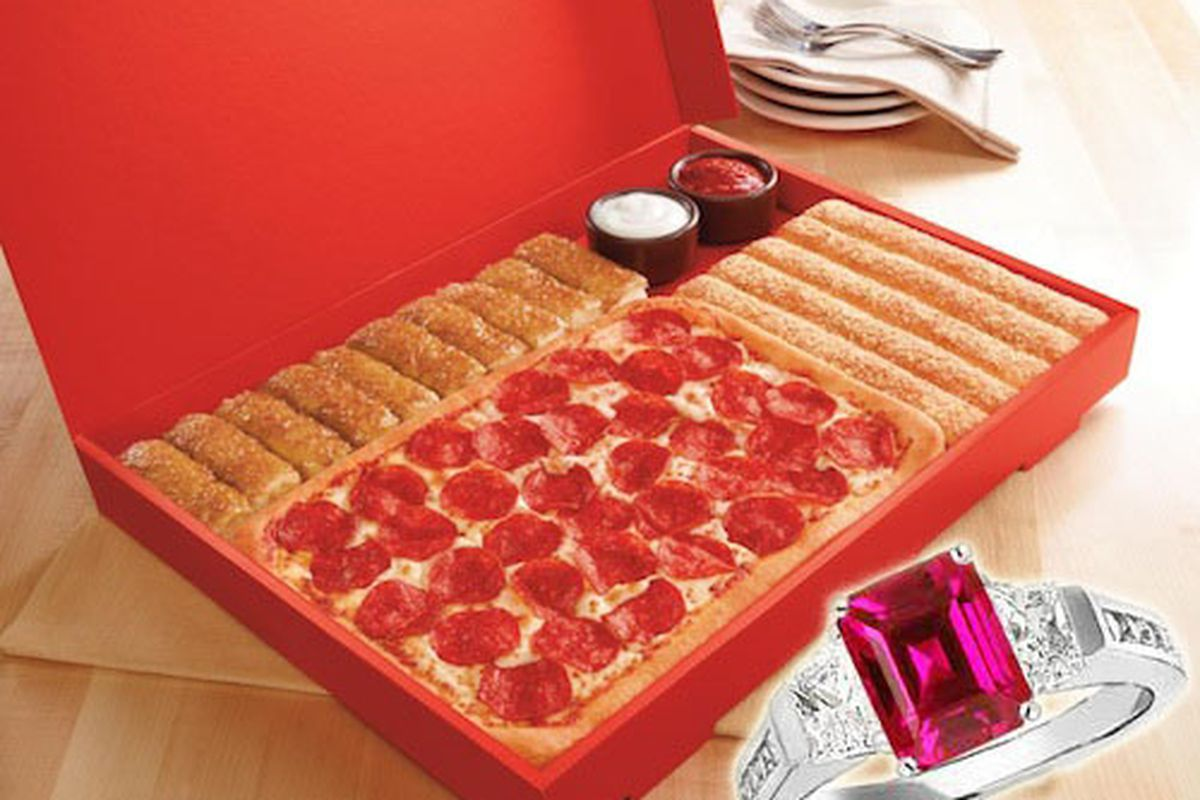 Pizza Huts 10000 Engagement Party Package Includes A