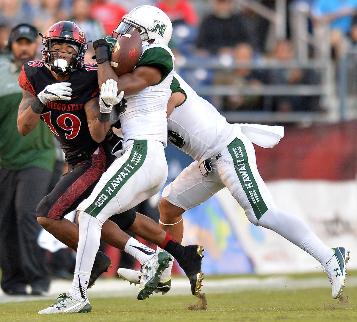Football NCAA: Hawaii à San Diego State