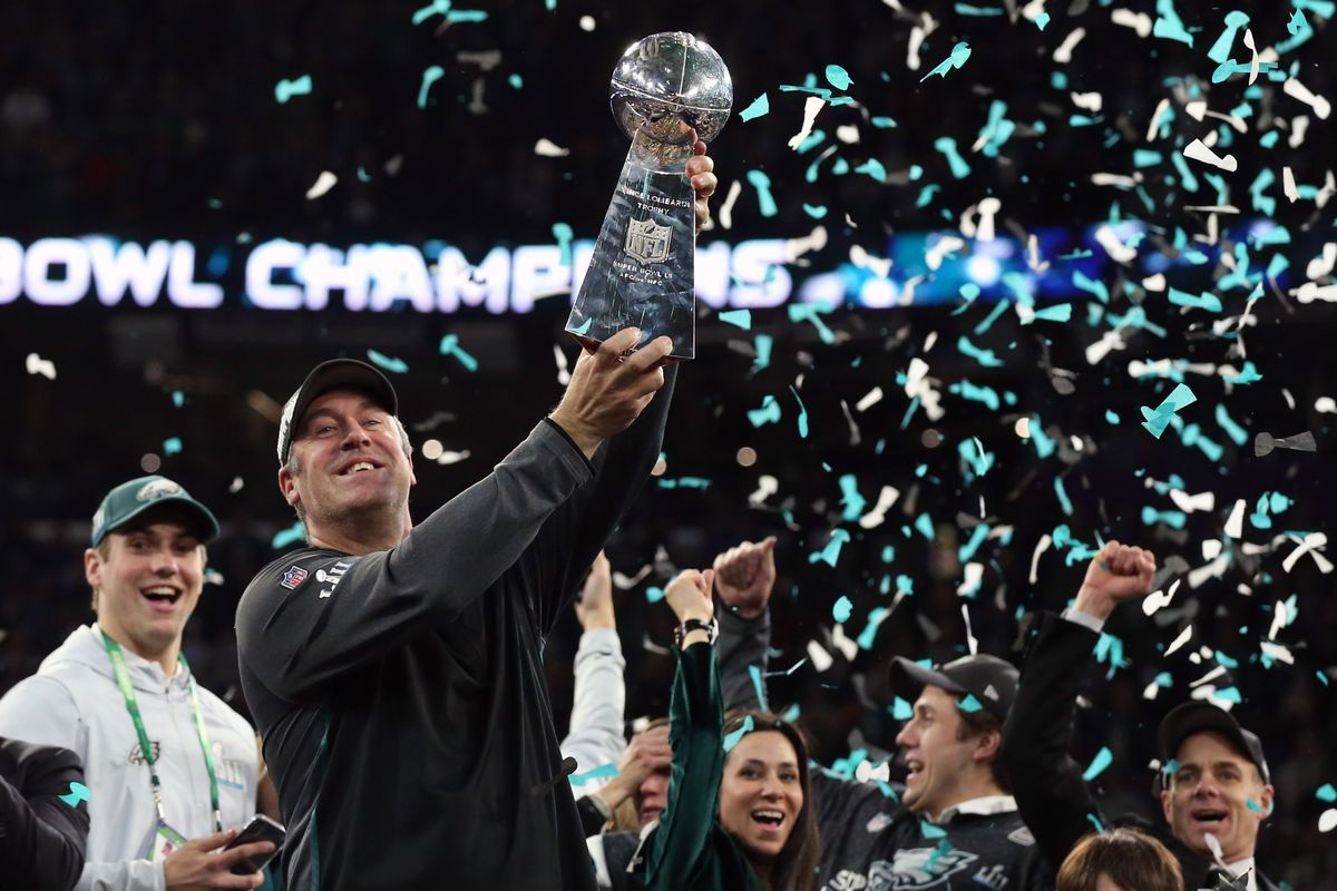 Image result for eagles win super bowl