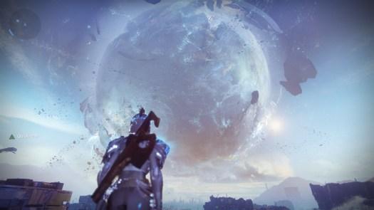 The healing Traveler Destiny 2
