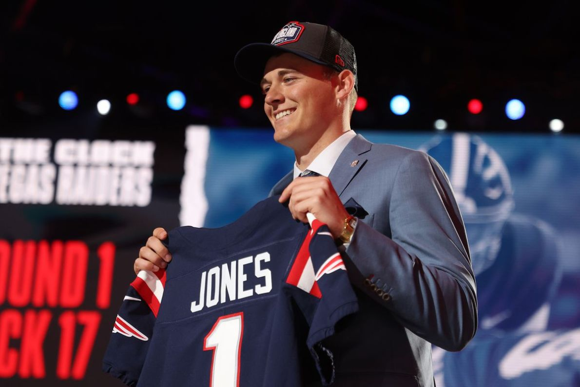 Get your official Mac Jones Patriots jersey right here! - Pats Pulpit