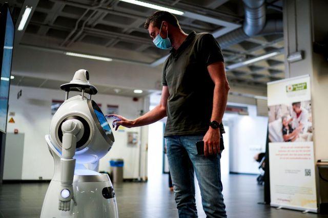 بلجيكا- الصحة- فيروس- روبوت